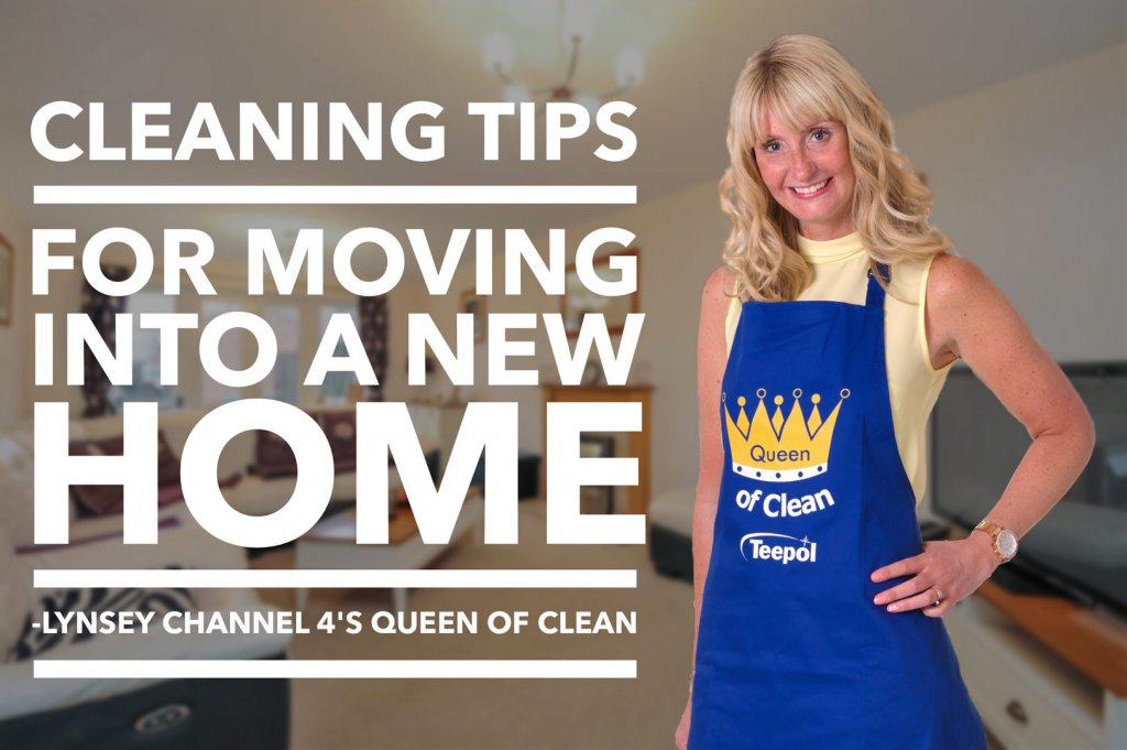 Cleaning tips for moving into a new home