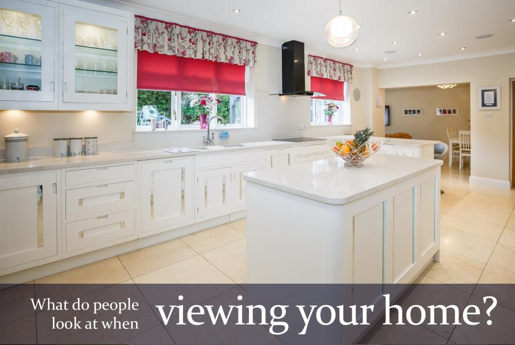 What do people look at when viewing your home?